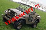 Nekaf jeep ( Willys M38a1 Jeep ) 1956
